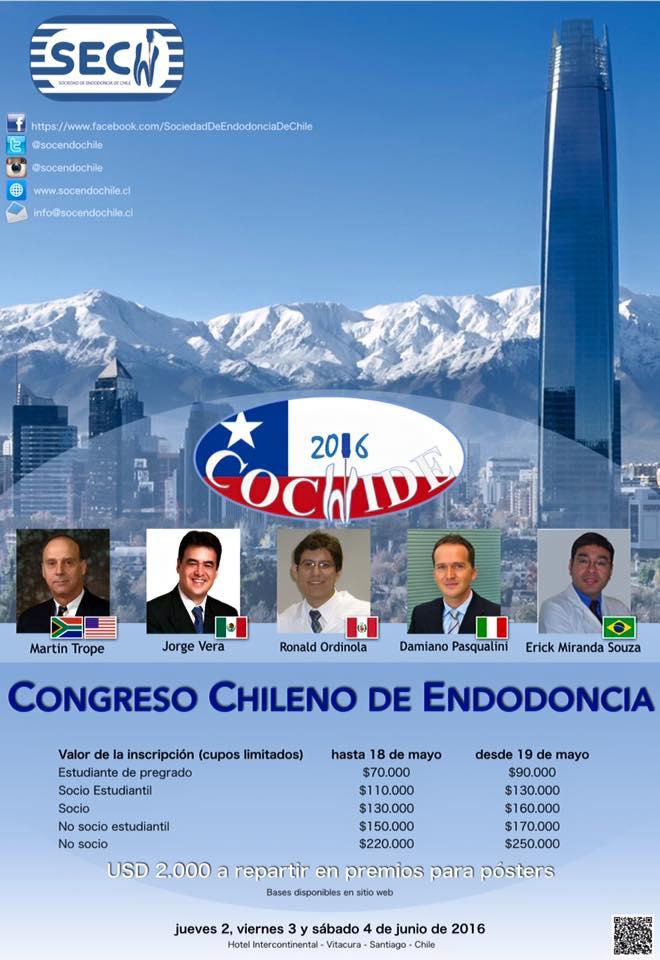 congreso chileno de endodoncia