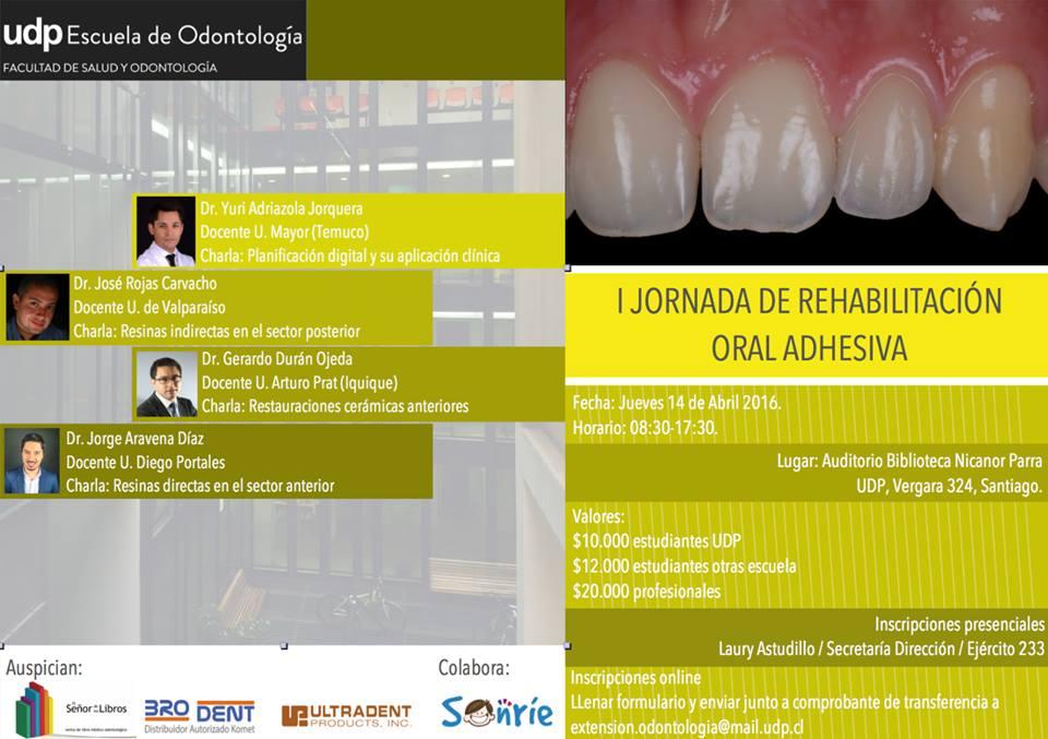jornada rehabilitacion oral adhesiva