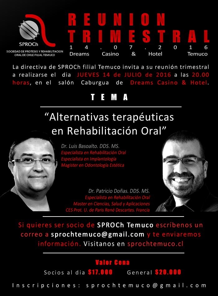 reunion trimestral sproch temuco