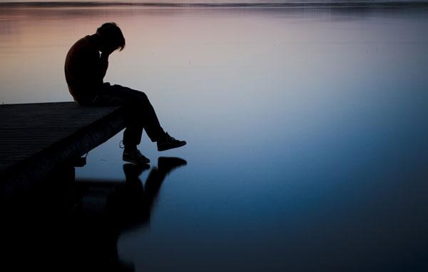 test saliva depresion