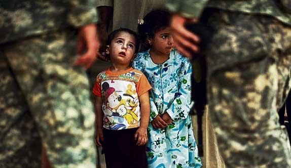 dientes niños guerra