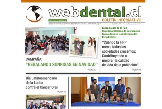 Periodico de Odontologia N° 78